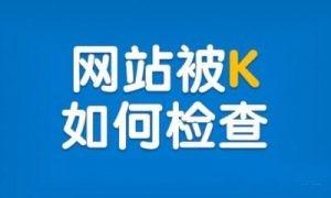 深圳整站SEO:网站优化被K后的表象及原因以及处理技巧方法有哪些?