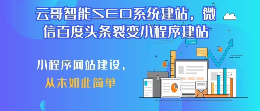 SEO网站建设小程序