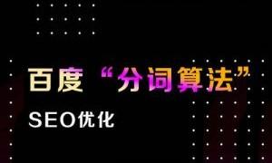 深圳seo:SEO从业者技能必须了解的百度分词算法技术!